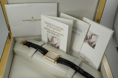 Vacheron Constantin 91004 Les Historique Jalousie limited ed. dates 1997 pre owned for sale houston fabsuisse