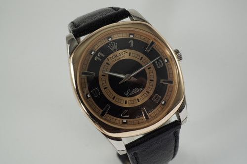 Rolex 4243 Cellini Danaos 18k white & pink gold w/ box c. 2005 modern pre owned for sale houston fabsuisse