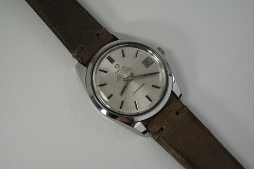 Omega 168.0061 Seamaster Chronometer automatic stainless steel dates 1972 vintage automatic pre owned for sale houston fabsuisse