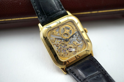 AUDEMARS PIGUET SKELETONIZED 18K WRISTWATCH