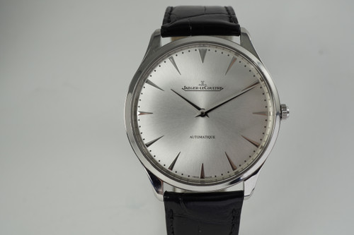 Jaeger LeCoultre 170.8.37 Master Control Ultra Thin w/ papers 2018 pre owned modern automatic for sale houston fabsuisse