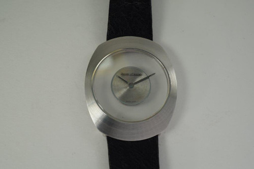Jaeger LeCoultre Mystery Dial 18k white gold circa  1970's vintage pre owned for sale houston fabsuisse