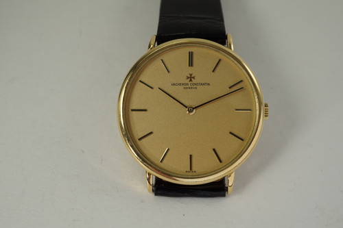 Vacheron Constantin 2138 Dress Watch 18k yellow gold c. 1975 vintage pre owned for sale houston fabsuisse
