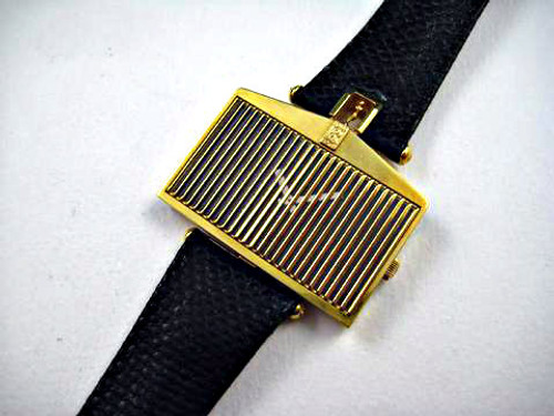 CORUM 18K ROLLS ROYCE WATCH REF.55585 CIRCA 1977 FITTED BOX & PAPERS