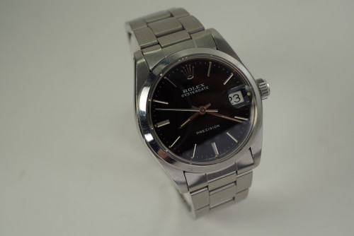 Rolex 6466 Oysterdate stainless steel original mint dates 1986 vintage 31 mm pre owned for sale houston fabsuisse