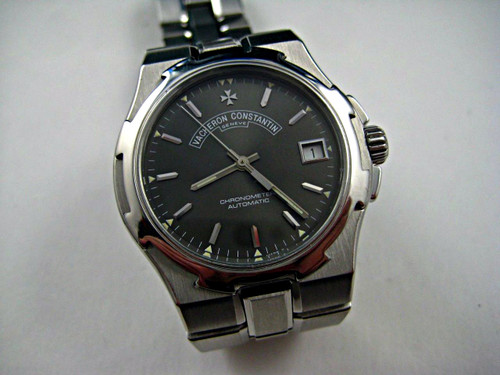 VACHERON CONSTANTIN 42042 OVERSEAS AUTOMATIC DATE. 37 MM