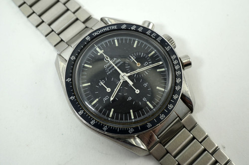 Omega Speedmaster 145022 professional man on the moon steel dates 1971 rare for sale houston fabsuisse