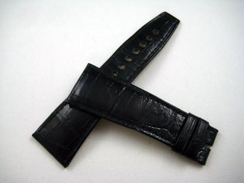 Cartier alligator Divian Strap large 24 mm black