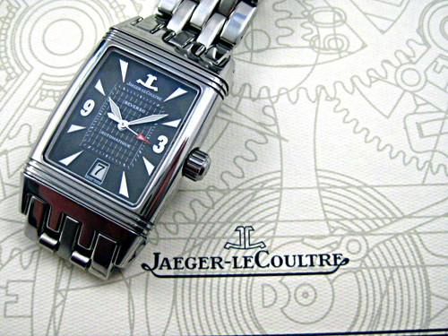JAEGER LeCOULTRE REVERSO STAINLESS STEEL REF.290.8.60 BOX & PAPERS