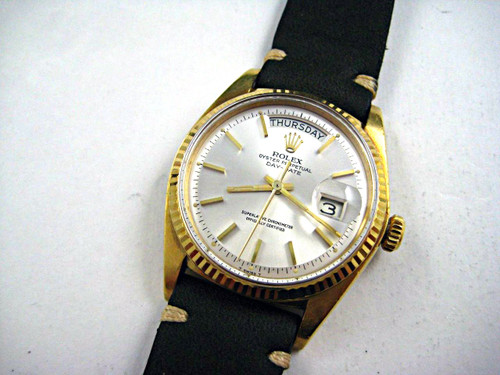 Rolex 1803 Day-Date President C. 1973 18k yellow gold automatic for sale pre-owned for sale Houston fabsuisse