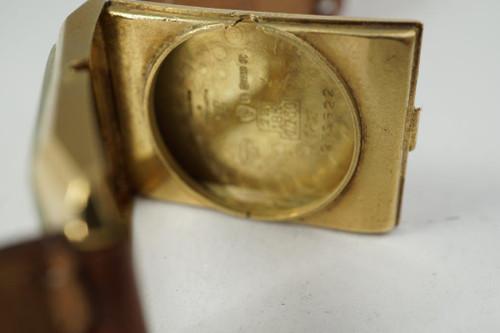 Vacheron Constantin art deco style 18k yellow gold dates 1925 for sale houston fabsuisse