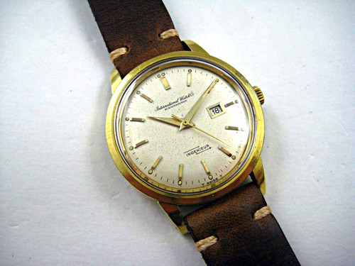 IWC VINTAGE 18K INGENIEUR DATES EARLY 1960'S REF.666A