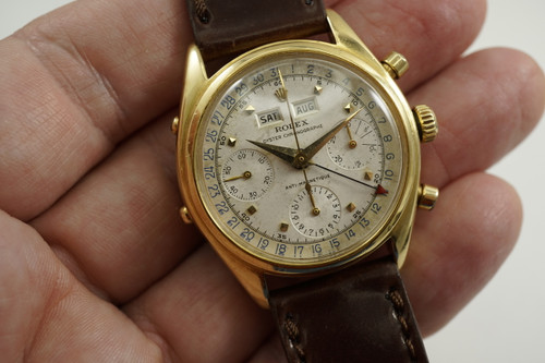 Rolex 6036 Dato-Compax Chronograph Jean Claude Killy c.1953 for sale Houston Fabsuisse