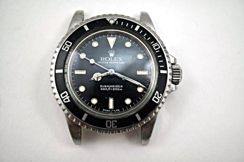 Rolex  5513 Submariner dates 1985 stainless steel pre-owned for sale houston fabsuisse
