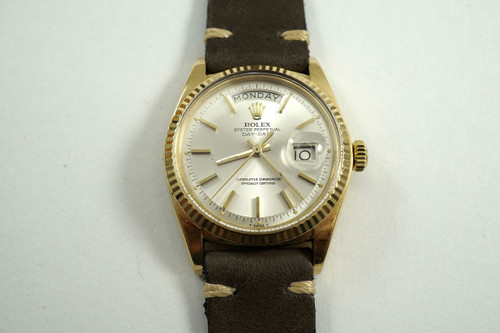 ROLEX 1803 18K YELLOW GOLD DAY DATE  DATES 1971