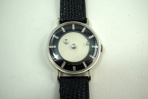 Vacheron Constantin LeCoultre Mystery Dial 14k dates 1950's for sale houston fabsuisse