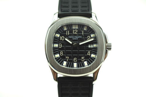 PATEK PHILIPPE 4960A AQUANAUT STAINLESS STEEL DATES 2000'S