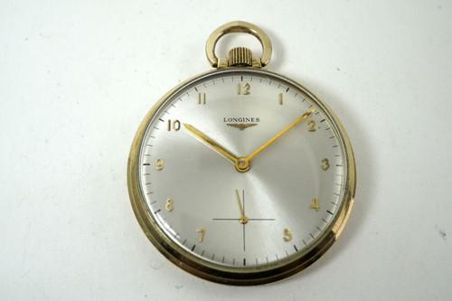 Longines Pocket Watch dates 1975-80 10k gold filled case award watch for sale houston fabsuisse