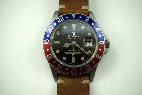 1966 ROLEX 1675  STAINLESS STEEL AUTOMATIC VINTAGE PRE- OWNED FOR SALE HOUSTON
