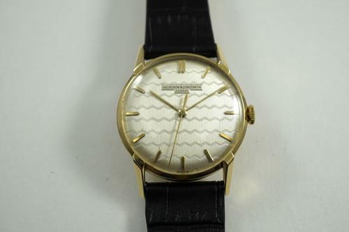 Vacheron Constantin 4897 18k yellow gold vintage dates 1950-55 for sale houston fabsuisse