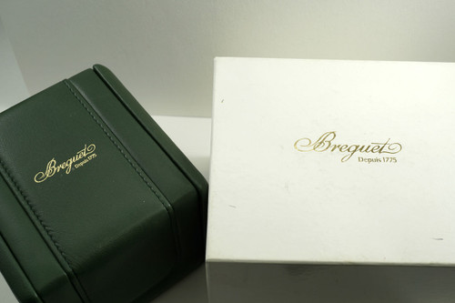 Breguet 3400/4400/8400 Marine inner & outer leather box w/ booklets dates 1990's for sale houston fabsuisse