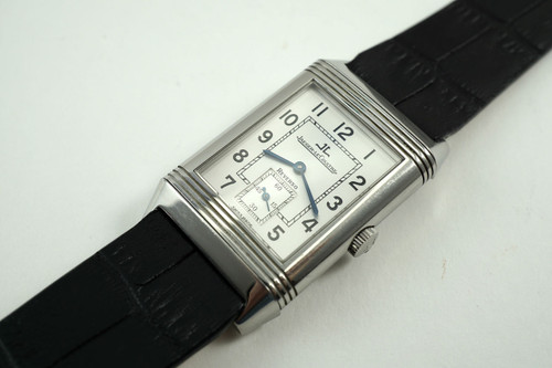 JAEGER LeCOULTRE 270.8.62 Grand Taille Reverso  stinless steel dates 2000'S