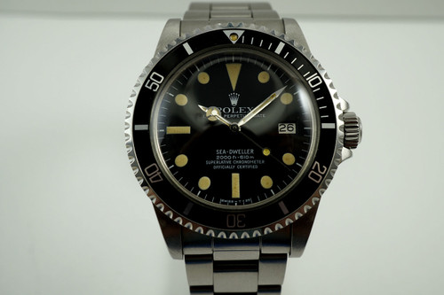 Rolex 1665 Sea Dweller Great White stainless steel excellent dates 1979