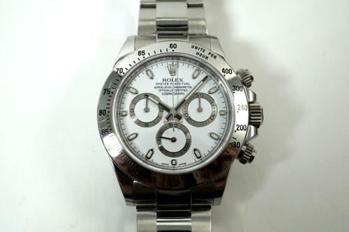 Rolex116520 Daytona Cosmograph stainless steel box, card, tags dates 2015 for sale houston fabsuisse