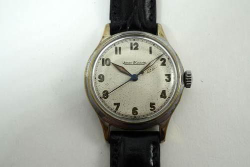Jaeger LeCoultre Military Style Watch cal. P478 sweep second dates mid 40's