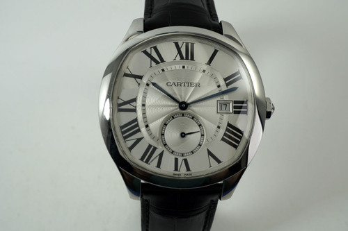 Cartier WSNM0004 Drive de Cartier box & papers stainless steel mint condition automatic all original for sale houston fabsuisse