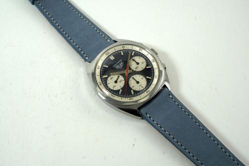 Heuer CS3110 Carrera Chronograph stainless steel 1964 re-edition