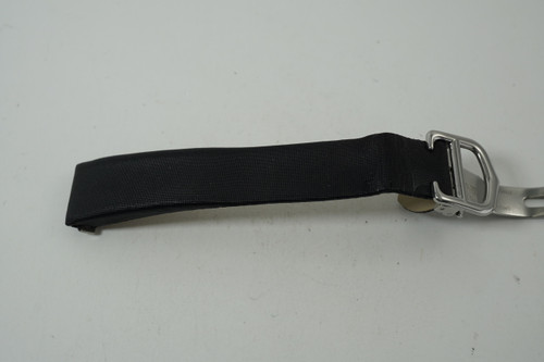 Ladies Cartier Deployment Strap and buckle Roadster models black silk & leather unused condition for sale houston fabsuisse