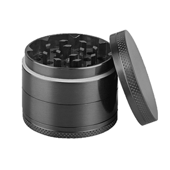 This shows the lid off the grinder. Note the color may vary.