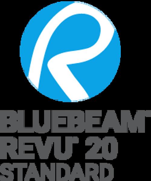 Bluebeam Revu Standard 2020 - Single User License