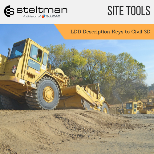 LDD Description Keys to Civil 3D