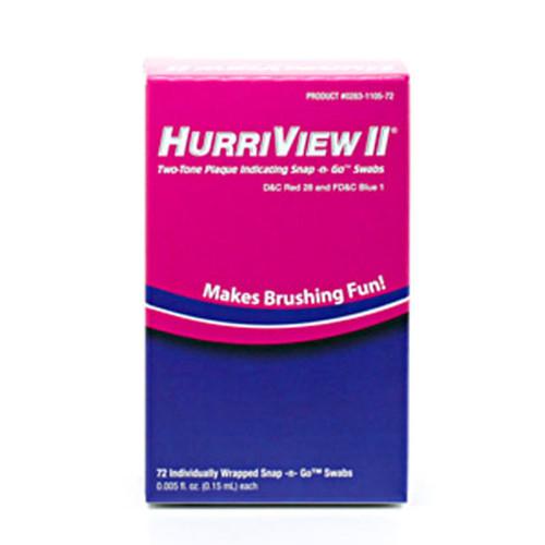HurriView Plaque Indicator Swabs