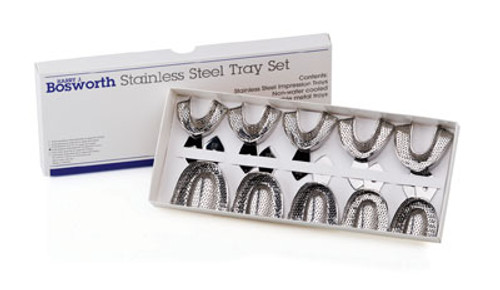 Bosworth Stainless Steel Impression Trays -Solid