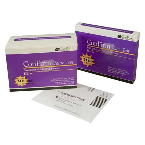 Crosstex ConFirm Mail-In Sterilizer Monitoring Ser