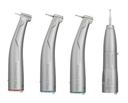 Midwest E Plus Electric Handpiece Attachments