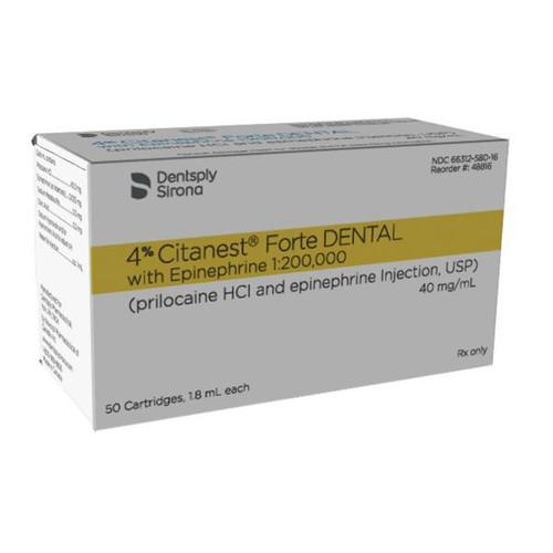 Citanest Forte 4% w/Epi