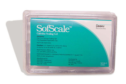 Dentsply SofScale Calculus Scaling Gel