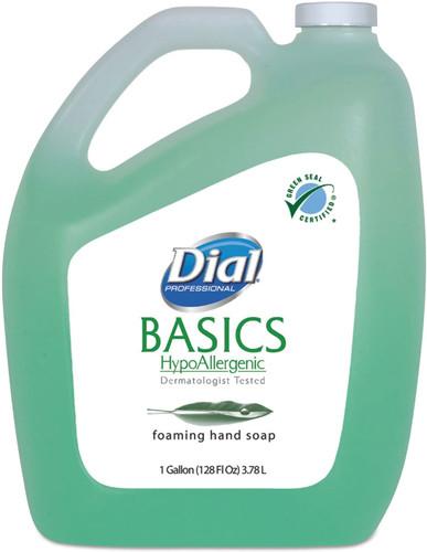 DIAL Basics Hypoallergenic Liquid Foaming Soap Gal
