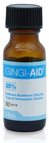 Gingi-Aid Solution25% Alumin. Chloride 15ml