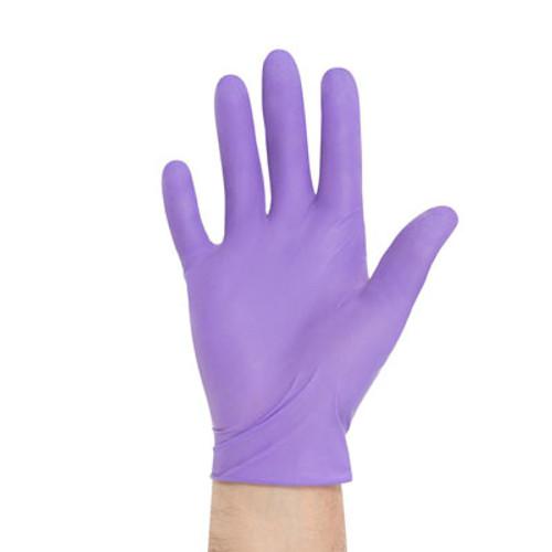 Kimberly Clark Purple Nitrile Exam Gloves -Sterile