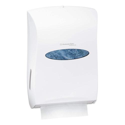 Universal Towel Dispenser Pearl White