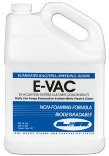 E-Vac Evacuation System Cleaner Concentrate Gal