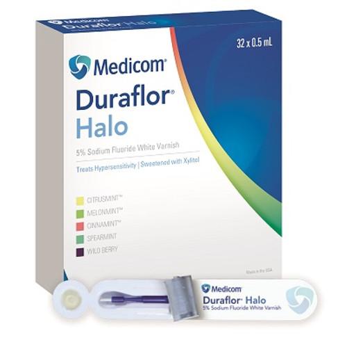 Medicom Duraflor Halo 5% Sodium Fluoride Varnish