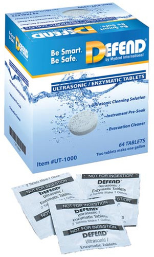 Defend Enzyme Ultrasonic Cleaner Tablets
