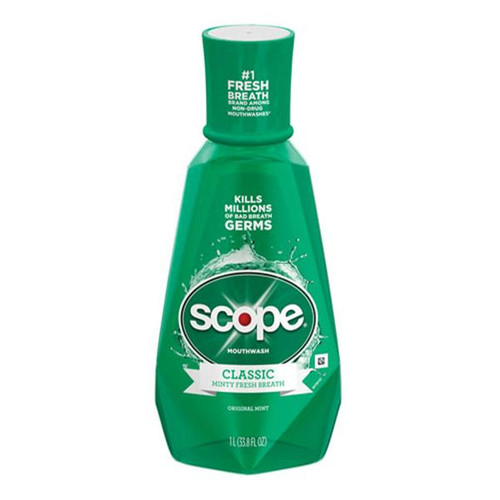 (MERGED WITH R001 Crest) Scope Mouthwash