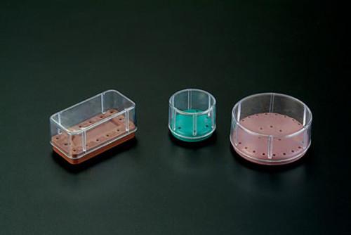 Plasdent Magnetic Bur Blocks -Round